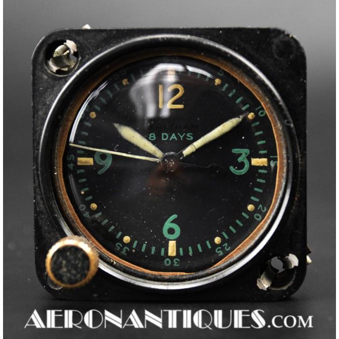 A-11 WALTHAM Cockpit Clock US Army Air Force