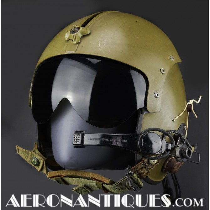 Vietnam APH-5 Helicopter US Army Pilot Flight Helmet