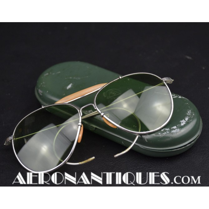 US Army Air Force Bausch & Lomb Pilot Sunglasses