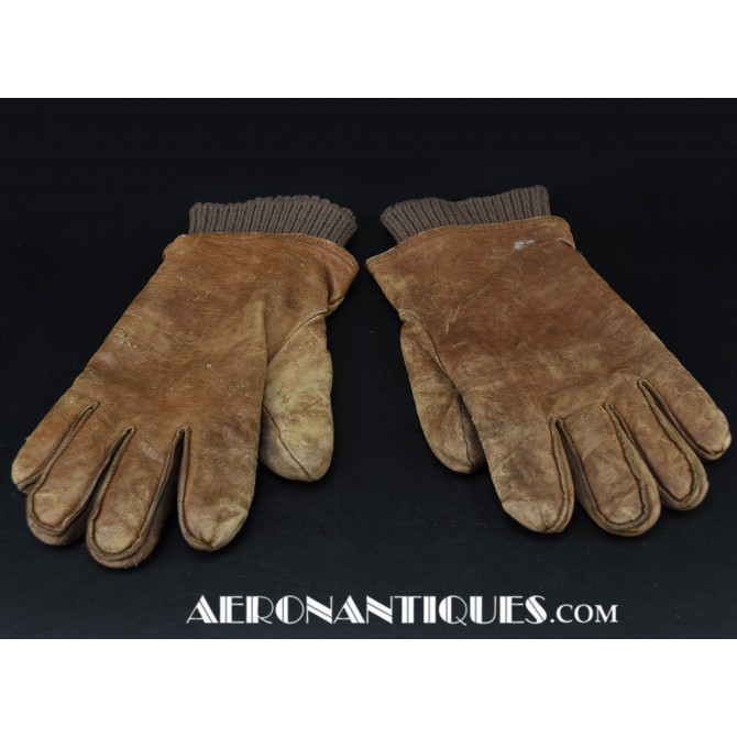 A-11 WWII US Army Air Force Pilot Flying Gloves