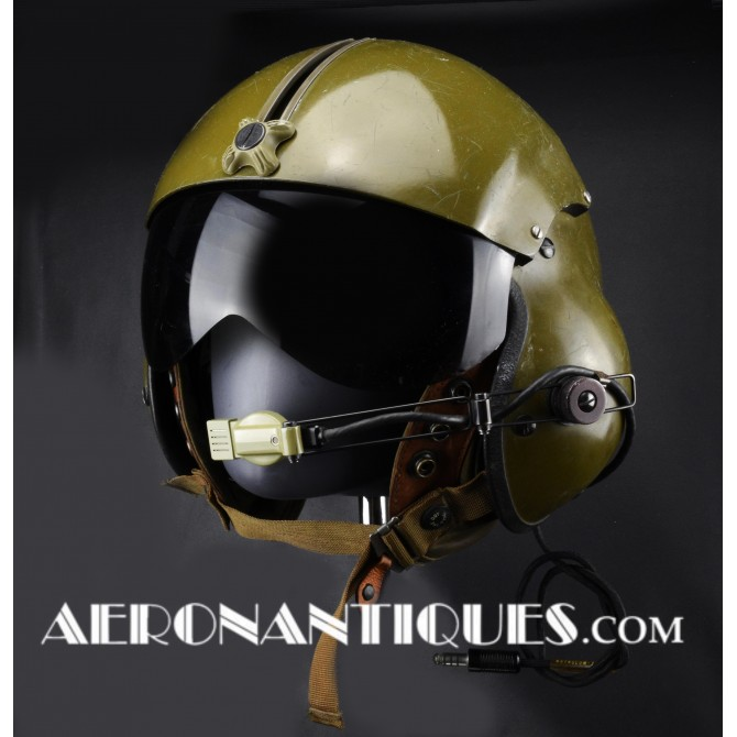 1969  SPH-4 Helicopter US Army Pilot Flight Helmet