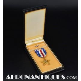 WWII US Silver Star Award...