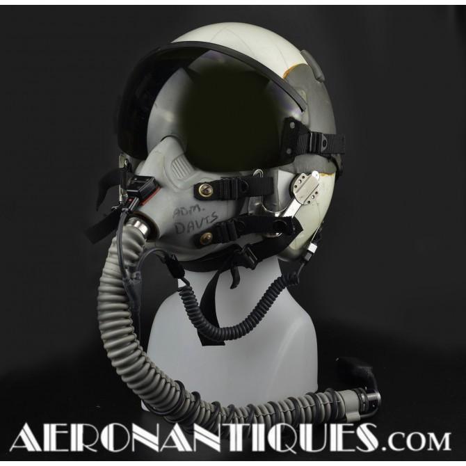 Navy Pilot Hgu-55/p Flight Helmet + Mbu-17/p Mask