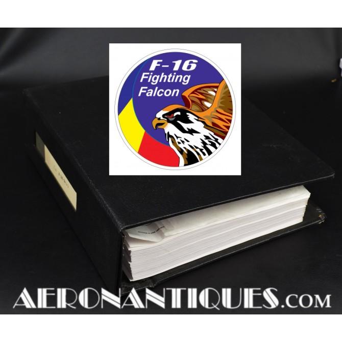 Vintage F-16 Munitions Delivery Manual Pilot USAF