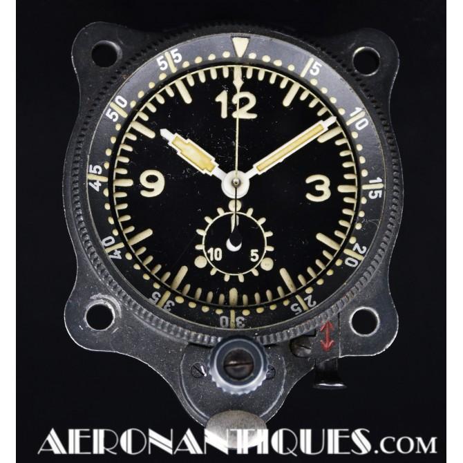 Junghans WWII Luftwaffe Cockpit Clock Me 109 Fw 190