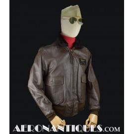 US Navy Pilot G-1 Leather...