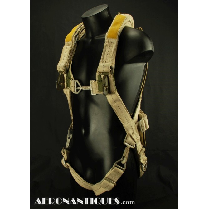 A-3 US Army Air Force WWII Bomber Aircrew Gunner Parachurte Harness