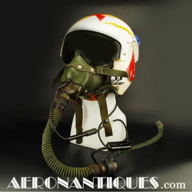 VAQ-33 Phantom US Navy Pilot APH-6 Flight Helmet & Mask