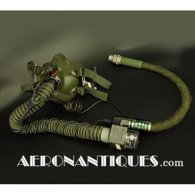 US Navy Jet Pilot Green MBU-14/P Oxygen Mask