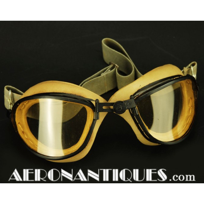 American Optical Flying Goggles US Army Air Force Pilot WWII