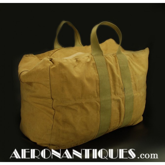 AN-6501 US Army Air Force WWII Aviator's Kit Parachute Bag
