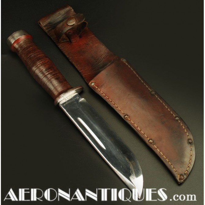 WWII US USMC Army Cattaraugus 225Q Fighting Survival Knife