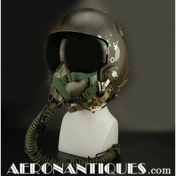 Camouflaged HGU-26 USAF US Air Force Pilot Flight Helmet