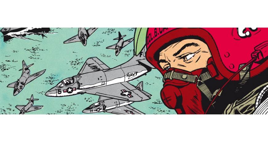 BUCK DANNY, la série de bande dessinée de Bergèse-Charlier-de Douhet-Formosa-Hubinon-Winis-Zumbiehl aux éditions DUPUIS
