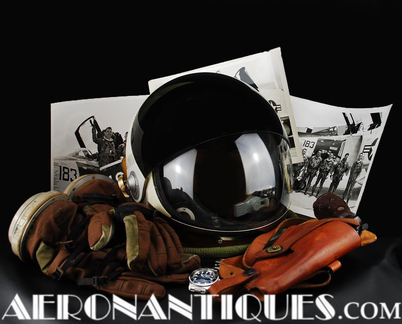 Vintage High Quality Flight Gear for the Discerning Enthusiasts