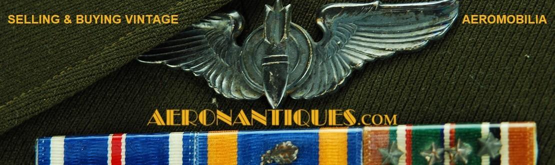 AVIATION MILITAIRE Uniformes et accessoires militaires authentiques de la Première Guerre Mondiale à nos jours